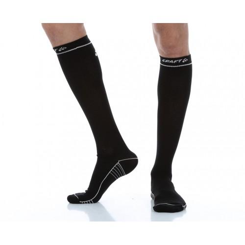 2381f14459f51 Компрессионные носки Craft Compression Black/White /1904087_9900/ ...