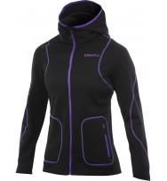 Женская флисовая куртка Craft Active Full Zip Hood W (1901675_9462)