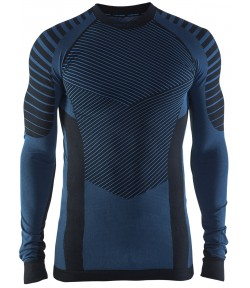 Мужская терморубашка Craft Active Intensity Long Sleeve Top /1905337_999336/