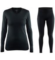 Комплект женского термобелья Craft Active Comfort Set (black)