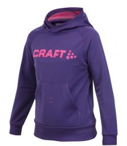 Толстовка детская Craft Stretch Hood black /1902453-2462/