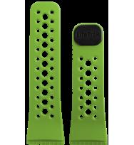 Сменный ремешок для фитнес трекеров Lifetrak Black/Lime