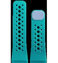 Сменный ремешок для фитнес трекеров Lifetrak Ultra-Soft Silicone Sweet/Water Blue