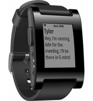 Умные часы Pebble Watch Jet Black