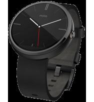 Умные часы Motorola Moto 360 (Dark/Black)