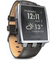 Умные часы Pebble Steel (Brushed Stainless)