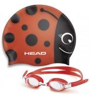 Очки + шапочка Head Meteor Character (451020/RD.RD)