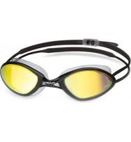 Очки для плавания Head Tiger Race LSR+ зеркальное покрытие (451040/CLBKSMK)