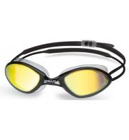 Очки для плавания Head Tiger Mid Race LSR+ зеркальное покрытие (451041/BKSMK)