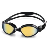 Очки для плавания Head Tiger MID зеркальное покрытие (451042/BKSMK)
