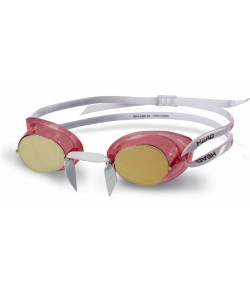 Очки для плавания Head Racer TPR+ зеркальное покрытие (451050/CLRDGO)