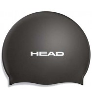 Шапочка для плавания Head Silicone Flat single color pearl (455003/BK)