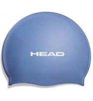 Шапочка для плавания Head Silicone Flat single color pearl (455003/BL)