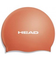 Шапочка для плавания Head Silicone Flat single color pearl (455003/OR)