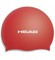 Шапочка для плавания Head Silicone Flat single color pearl (455003/RD)