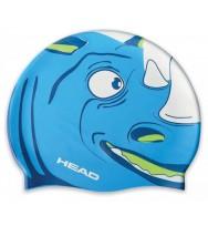 Шапочка для плавания детская Head Meteor Cap (455138/BLWH)