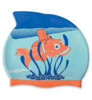 Шапочка для плавания детская Head Meteor Cap (455138/RYOR)