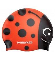 Шапочка для плавания детская Head Meteor Cap (455138/RD)