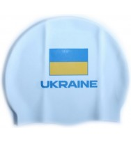 Шапочка для плавания Head Cap Flat Ukrainian Federation (455176/WH)