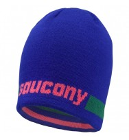 Шапка Saucony Striped Beanie /90454-STEVPC/