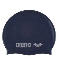Шапочка для плавания Arena Classic Silicon JR /91670-20/ dark blue