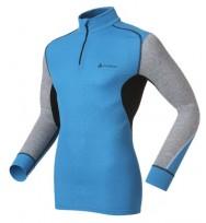 Термокофта Odlo Shirt l/s turtle neck zip WARM /7613014924670/