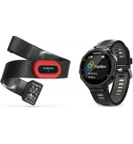 Оптический пульсометр Garmin Forerunner 735XT Black/Grey Run Bundle (010-01614-12)