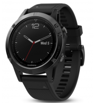 Многофункциональные GPS-часы Garmin Fenix 5 Sapphire Black