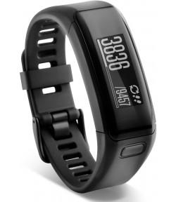 Фитнес трекер с оптическим пульсометром Garmin Vivosmart HR black (010-01955-15)