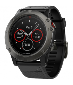 Спортивные GPS-часы Garmin Fenix 5X Sapphire Slate Gray
