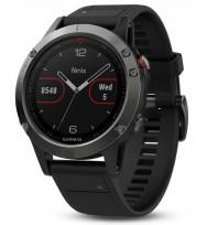 Многофункциональные GPS-часы Garmin Fenix 5 Slate Grey