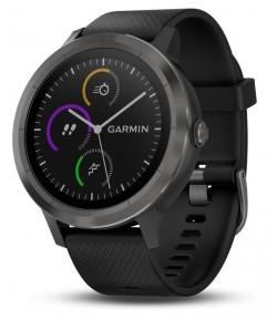 Умные часы с GPS Garmin Vivoactive 3 Black with Slate Hardware (010-01769-12)