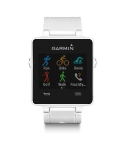 Умные GPS-часы Garmin vivoactive HRM White 010-01297-11