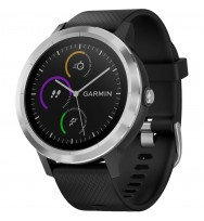 Умные часы с GPS Garmin Vivoactive 3 Black with Stainless Hardware (010-01769-02)
