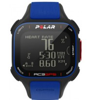 Пульсометр Polar RC3 GPS HR blue