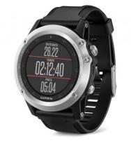 Многофункциональные GPS-часы Garmin Fenix 3 HR silver