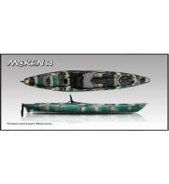 Каяк для рыбалки MOKEN-14 Angler/Rudder (для профессионалов)