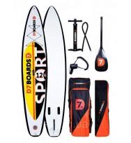 Надувная SUP доска D7 Boards Sport 12.6