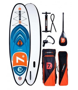 Надувная SUP доска для серфинга D7 Boards 9.6
