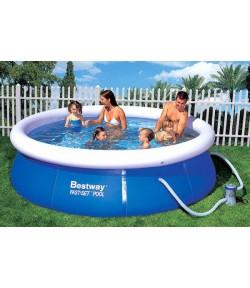 Наливной бассейн BESTWAY 57109 с фильтр-насосом