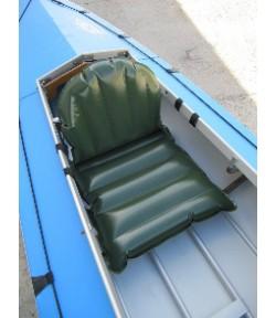 Надувная сидушка с эргономичной спинкой