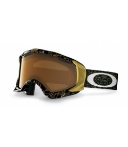 Oakley Twisted Gold Factory Text W/Gold Iridium /57-626/
