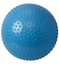 Мяч для фитнеса (фитбол) массажный 65 см с системой антиразрыва