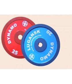 Диск металлический окрашенный 0,5 - 25 кг
